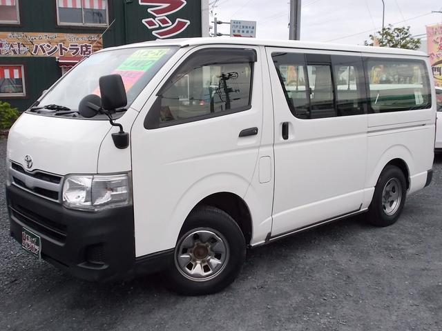 トヨタ ロングDX 4WD 9人乗り リアヒーター付き 寒冷地仕様