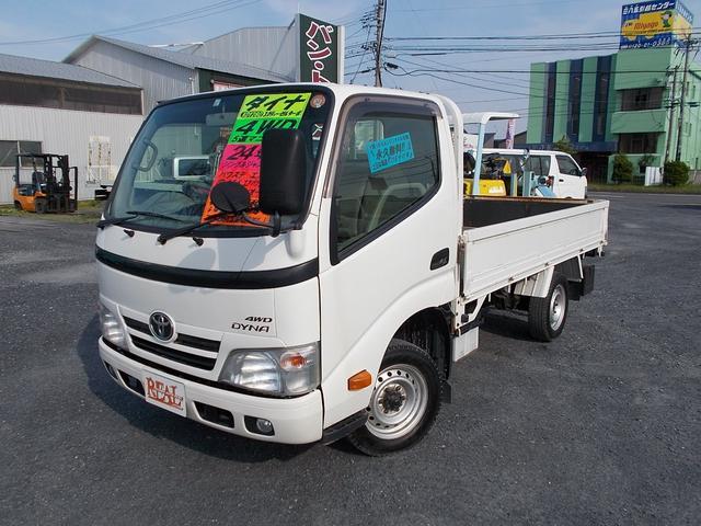 トヨタ ロングシングルジャストロー 4WD マニュアル 木製荷台 荷台内寸3115×1615×380 パワステ パワーウィンドウ エアコン エアバック ABS