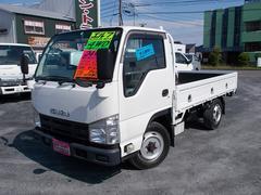 エルフトラック 4WD マニュアル 1.5t平ボディー 木製荷台 作業灯 ナビ DVD キーレス