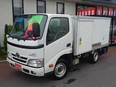 ダイナトラック 4WD 中温冷凍車 マニュアル −7℃〜35℃調節可能 タイベル交換済み217253km パワステ パワーウィンドウ エアコン エアバック