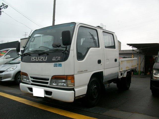 いすゞ エルフトラック Wキャブ 4WD ディーゼル 5速 (なし)