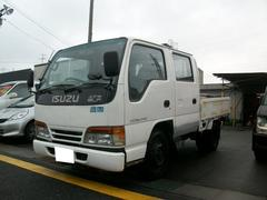 エルフトラックWキャブ 4WD ディーゼル 5速