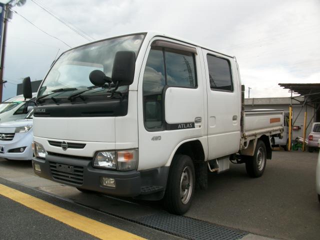 日産 アトラストラック Wキャブ ディーゼル 4WD 5速 (なし)
