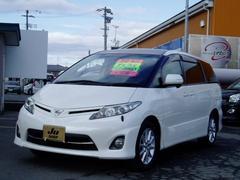 エスティマアエラス 4WD サンルーフ HDDナビ 後席モニタ