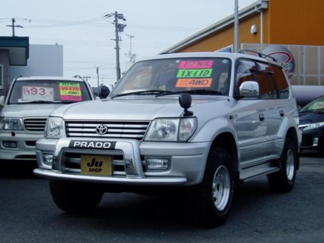 トヨタ ランドクルーザープラド TXリミテッド 4WD 8人乗り