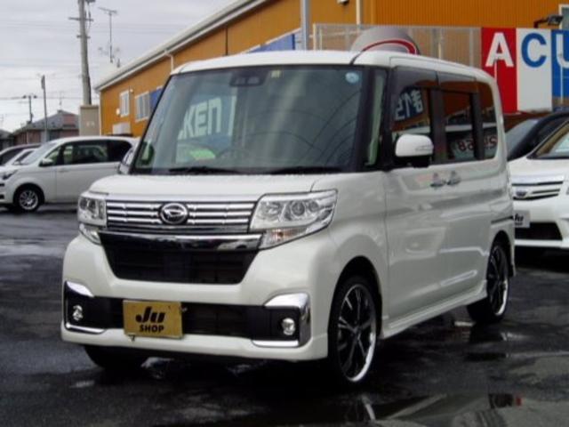 ダイハツ カスタムX SAIII 4WD 17インチアルミ