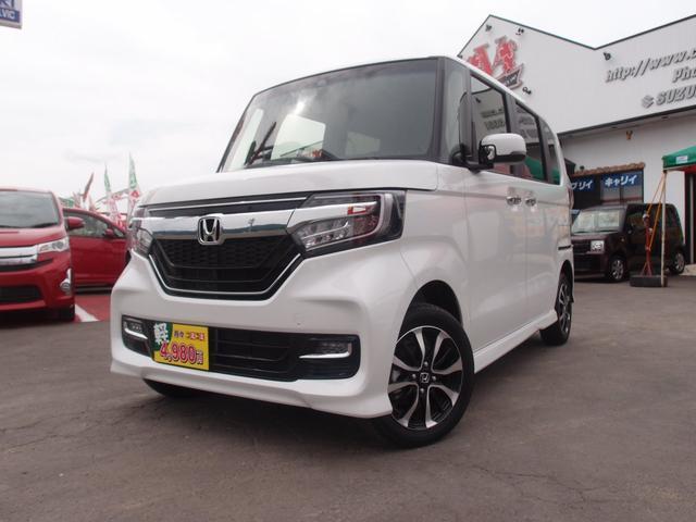 ホンダ N-BOXカスタム G・Lホンダセンシング 4WD 左電動スライドドア