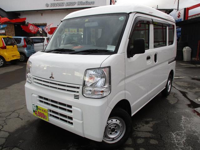 三菱 ミニキャブバン G 切替式4WD ナビTV 4速オートマ