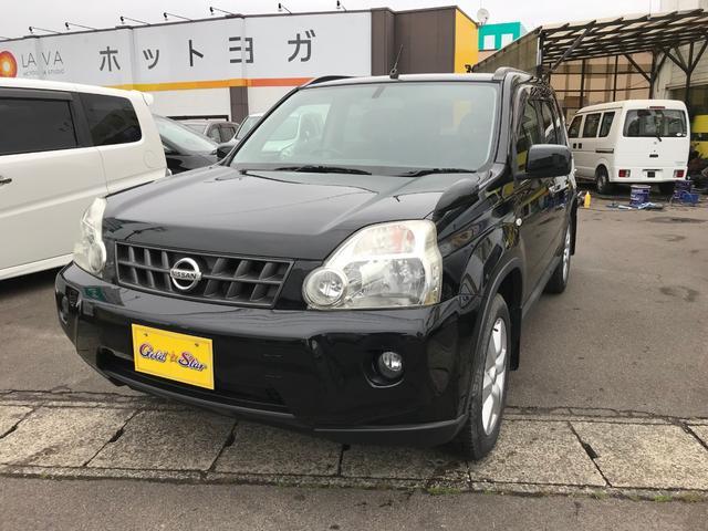 日産 20X 4WD 革調シート インテリキー 切替4WD