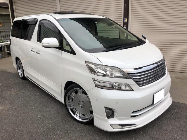 トヨタ 3.5V Lエディション 本革サンルーフ モデリスタ 車高調