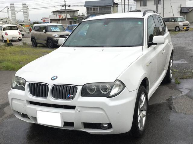BMW X3 2.5si Mスポーツパッケージ (検31.1)