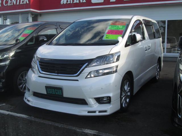 トヨタ 2.4Z 4WD フリップダウンモニター 両側電動スライド