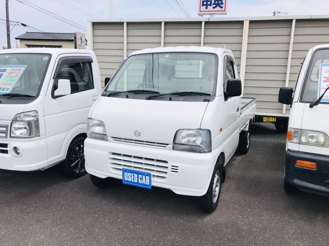 スズキ KA 4WD AC MT 軽トラック ワンオーナー