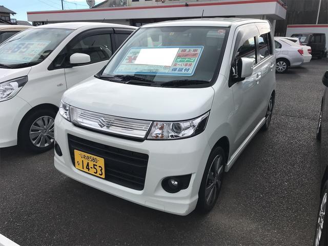 「スズキ」「ワゴンRスティングレー」「コンパクトカー」「福島県」の中古車