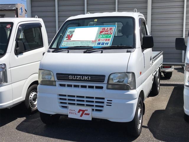 スズキ KUスペシャル パートタイム4WD フロア5MT