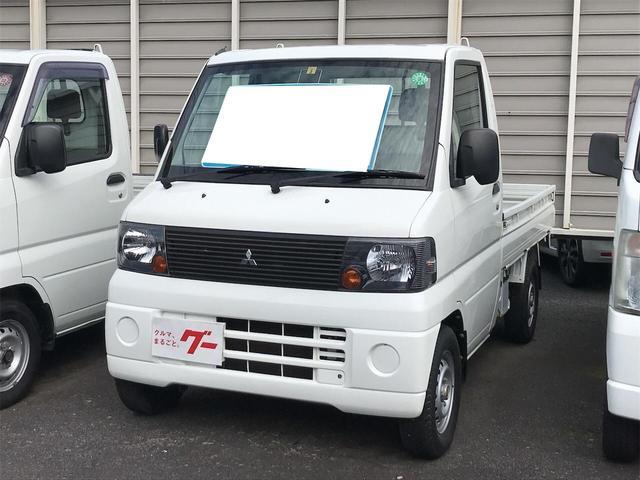 三菱 Vタイプ 4WD MT 軽トラック ホワイト