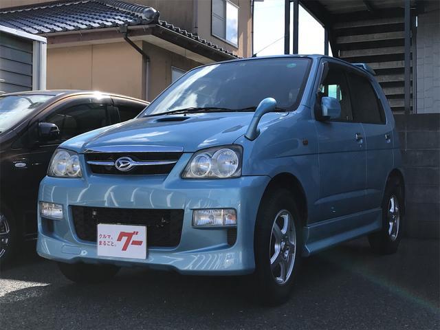 ダイハツ カスタムL 4WD インタークーラーターボ アルミ CD オートマ 記録簿 キーレスキー ETC