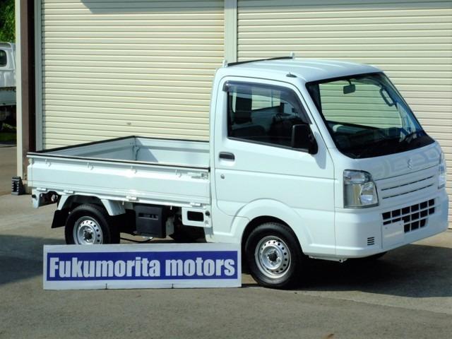 スズキ KCエアコン・パワステ 4WD 5MT荷台マット・プロテクタ