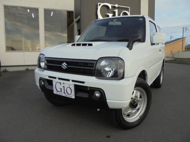 スズキ XG 後期9型 インタークーラーターボ パートタイム4WD 背面タイヤ フォグランプ キーレス CDオーディオ