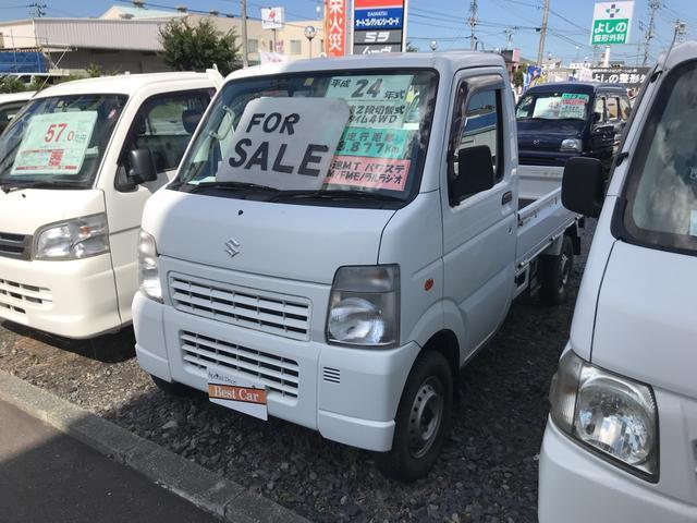 スズキ KC 4WD MT 軽トラック パワステ