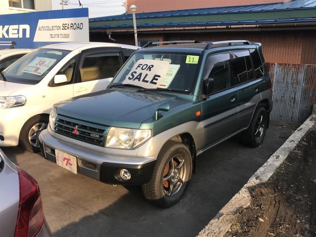三菱 ZR 4WD AW オーディオ付 5人乗り SUV 保証付