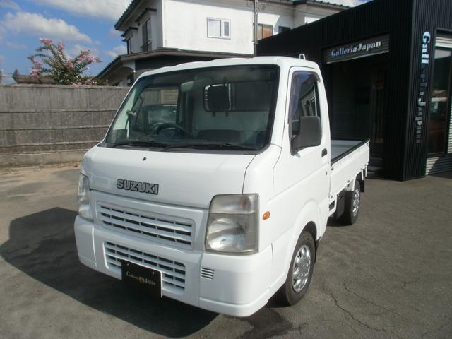 スズキ FC 4WD エアコン パワステ 5速マニュアル 軽トラック