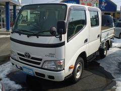 ダイナトラックWキャブロング 4WD パワステ ABS ETC