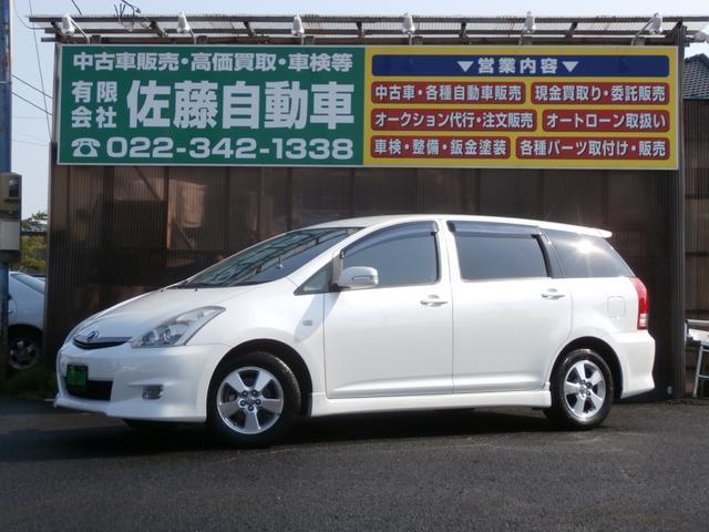 トヨタ X エアロスポーツパッケージ HDDナビ地デジ Bカメラ