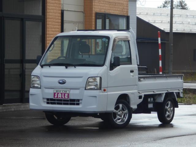 TB 4WD  5速マニュアル 社外アルミスタッドレス付き 関西使用車