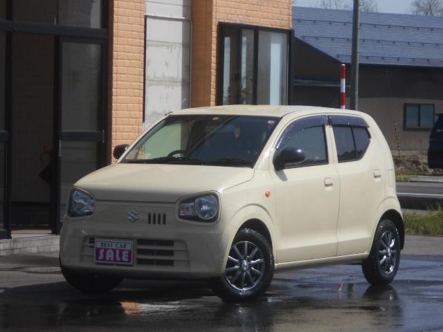 スズキ L 4WD 寒冷地仕様 プライバシーガラス シートヒーター 社外アルミ付き