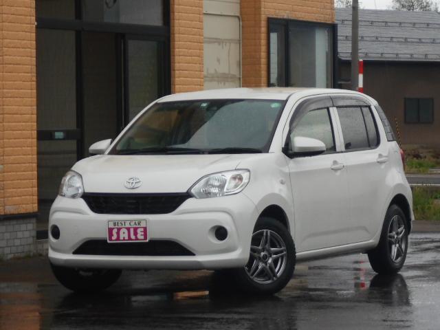 トヨタ パッソ X LパッケージS 4WD関西仕入 スマートアシスト2 寒冷地仕様 社外ナビ ブルートウース機能バックカメラETC付き