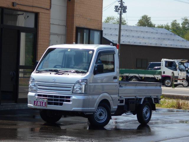 スズキ KCエアコン・パワステ 4WD サイドバイザー ゲートプロテクター 荷台マット 荷室マット付き