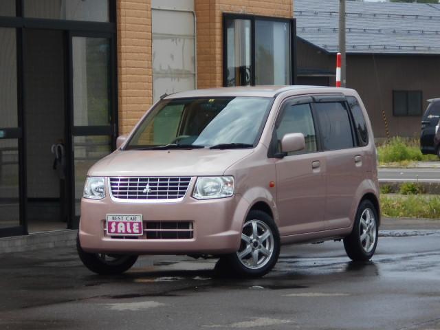 三菱 eKワゴン M 4WD 5速マニュアル 社外アルミ スタッドレス付きシートヒーター付き