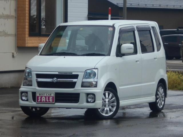 スズキ ワゴンR RR-Sリミテッド 4WD ターボ ワンオーナー 車検整備済み 禁煙車 HIDライト