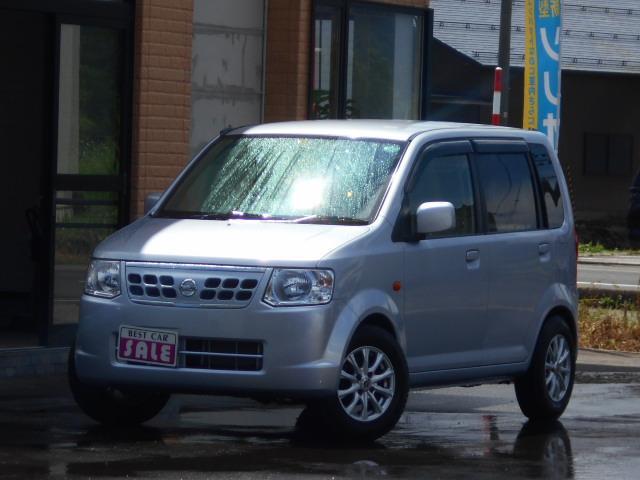 日産 オッティ S FOUR 4WD 5速マニュアル 寒冷地仕様社外アルミ付き シートヒーター 禁煙車