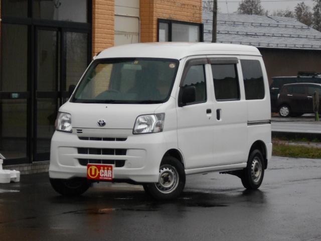 トヨタ デラックス ハイルーフ 4WD 社外ナビ ETC 関東使用下回り良好車 プライバシーガラス