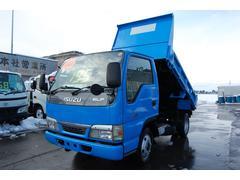 エルフトラック2t 全低床ダンプ 4WD