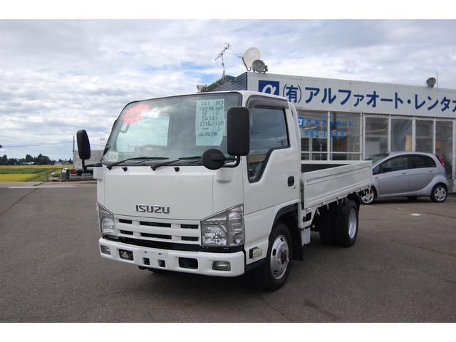 いすゞ エルフトラック 1.45t 全低床 4WD