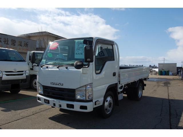 いすゞ エルフトラック 1.5t 全低床 4WD
