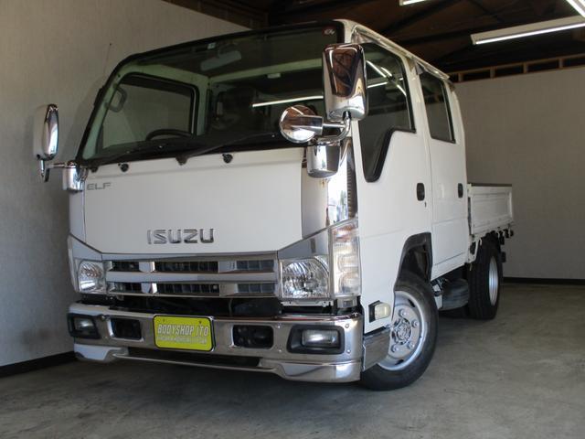 いすゞ エルフトラック  Wキャブ 4WD メッキパーツ