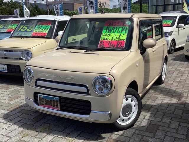 スズキ アルトラパンショコラ G 4WD キーレスプッシュスタート HIDヘッドライト シートヒーター ショコラ専用シート 前使用地区東海圏 ETC