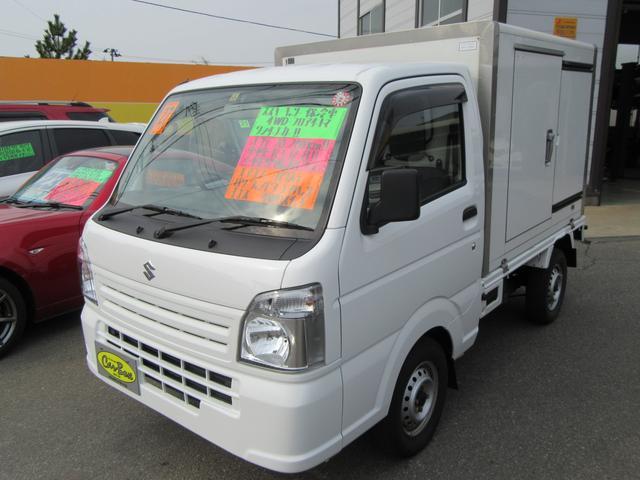 保冷車 4WD ワンオーナー エアコン キーレス パワステ
