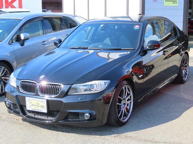 BMW 3シリーズ 325i Mスポーツパッケージ ディーラー車 右ハンドル WORK18インチアルミホイール マックガードロックボルト パドルシフト パワーシート ドライブレコーダー トランクスルー プッシュスタート  フルセグTV フォグ ETC