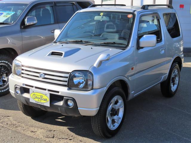 スズキ XC 4WD 5速MT 副変速機付きトランスファーレバー フォグランプ 電動格納ヒーテッドドアミラー キーレスキー ABS