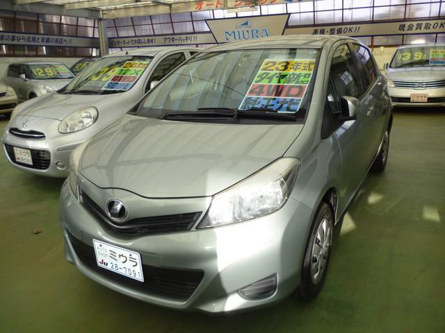 トヨタ 1.3F 切替4WD 後期 純正ナビ