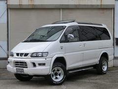 デリカスペースギアロング スーパーエクシード 4WD リフトUP ロング スーパーエクシード(7名)クリスタルルーフ