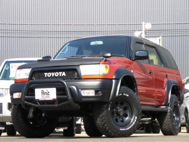 トヨタ SSR-X Vセレ4WD リフトUP BKインテリア