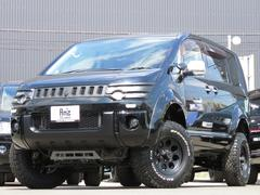 デリカD:5シャモニー4WD 両Pスラ 地デジHDDナビ 新品AWセット