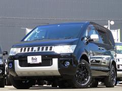 デリカD:5シャモニー4WD BKインテリア 両側Pスラ 新品AWセット