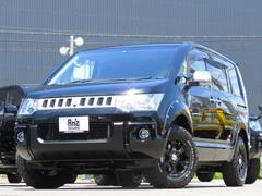 デリカD:5シャモニー4WD両Pスラ 地デジHDDナビ  新品AWセット